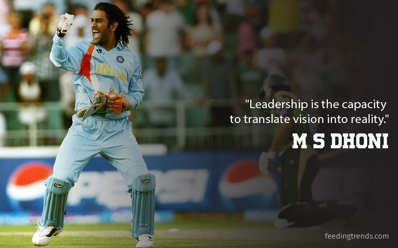25 MS Dhoni Quotes For Inspiration From MSD's Life & Untold Story