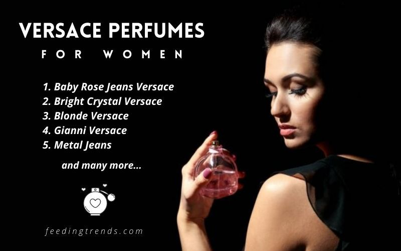 Versace, perfumes, women, fragrance, smell, scent, gift, her
