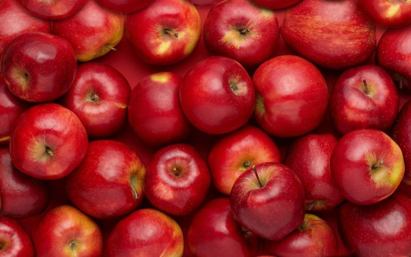 apples kept at one place