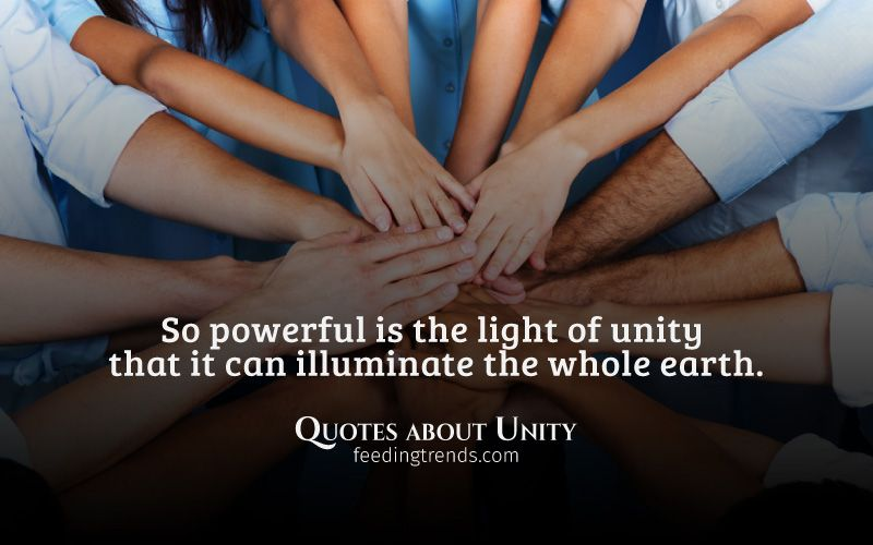Quotes About Unity